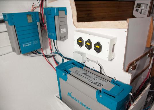 MASTERVOLT ebnet den Weg für ein System ohne jegliche Schwachstellen und garantiert Ihnen die zuverlässigste und leiseste Stromversorgung. Mit MASTERVOLT haben Sie kontinuierlichen Strom, auf den Sie sich jederzeit verlassen können.  (Bild 6 von 6)