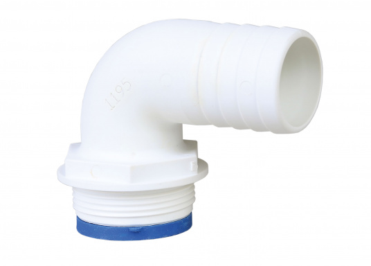TRUDESIGN Elbow hose connector 90 degree Angle White 25 mm