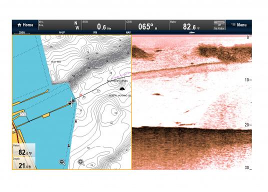 """Weitblick unter Wasser - Sehen Sie """"echte"""" Unterwasserwelt unter Ihrem Boot mit der CHIRP DownVision™Technologie von Raymarine.  (Bild 13 von 16)"""