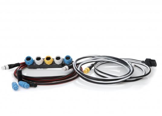 Mit dem Seatalk1 auf SeaTalkNG Konverter Kit können viele SeaTalk1 Geräte mit dem Raymarine SeaTalkNG Netzwerk kommunizieren. Der Konverter ist kompatibel mit ST40, ST60+, Raystar 125 GPS und LifeTag Man Overboard Systemen.
