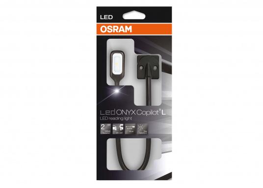 Hochflexibel und vielseitig einsetzbar. Diese LED-Leseleuchte mit allseitig biegsamem Arm ist ideal für Wassersport, Camping und Auto geeignet. Das warme und blendfreie Licht sorgt für eine angenehme Beleuchtung.  (Bild 3 von 4)