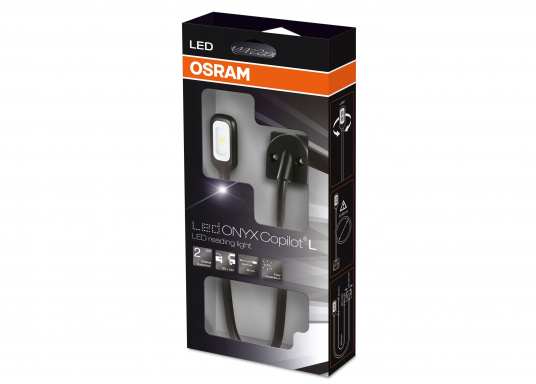 Hochflexibel und vielseitig einsetzbar. Diese LED-Leseleuchte mit allseitig biegsamem Arm ist ideal für Wassersport, Camping und Auto geeignet. Das warme und blendfreie Licht sorgt für eine angenehme Beleuchtung.  (Bild 4 von 4)
