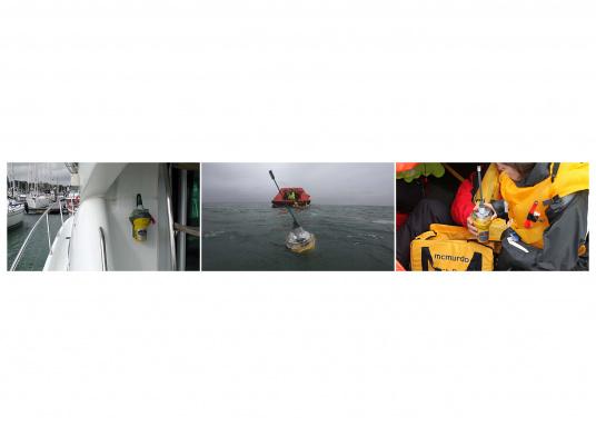 La balise Mc Murdo SMARTFIND G5 GPS accroît la rapidité des secours. Elle comporte un GPS 12 canaux pour transmettre une bonne position en cas de détresse.  (Image 2 de 2)