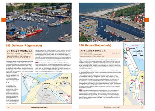 Kompakter, übersichtlicher und praktischer wurde die deutsche Ostseeküste noch nicht beschrieben. Natur- und Yachthäfen werden mit Luftaufnahmen, Hafenplänen und informativen Texten kompakt und übersichtlich vorgestellt. Zweisprachig: deutsch und englisch. (Bild 5 von 5)