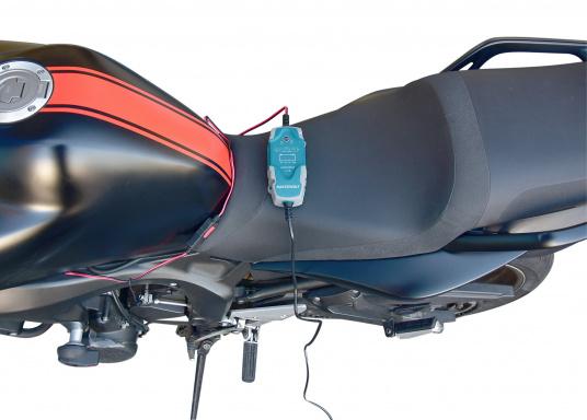 Das universelle EasyCharge-Batterieladegerät bietet Menschen, die viel unterwegs sind, eine ideale Lösung, die für Boote, Autos, Motorräder, Wohnwagen, Oldtimer, Landmaschinen usw. eingesetzt werden kann. Das tragbare aber auch fest montierbare Batterieladegerät zeichnet sich durch eine robuste ergonomische Bauweise und eine Wasserdichtigkeit gemäß IP65 Schutzklasse aus. (Bild 4 von 6)