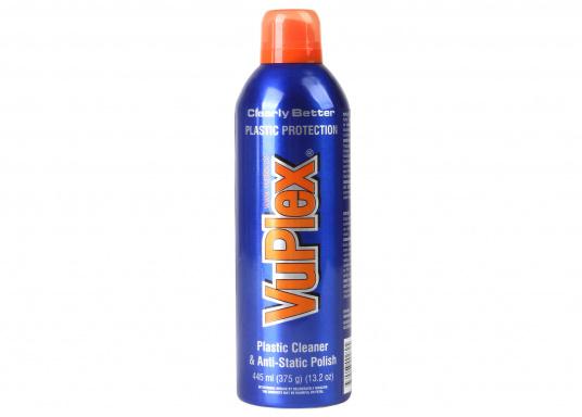Der VUPLEX Kunststoffreiniger reinigt, schützt und poliert auf einfache Art und Weise alle klaren und farbigen Kunststoffe, ohne dabei die Oberfläche anzugreifen.