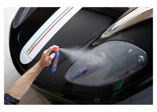 Der VUPLEX Kunststoffreiniger reinigt, schützt und poliert auf einfache Art und Weise alle klaren und farbigen Kunststoffe, ohne dabei die Oberfläche anzugreifen. (Bild 5 von 6)