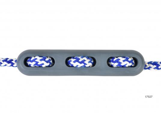Kompakte Ruckdämpfer nicht nur für den Einsatz am Steg oder Liegeplatz. Eine speziell abgestimmte Gummimischung / Härte garantiert optimale Ruckdämpfung.  (Bild 5 von 7)
