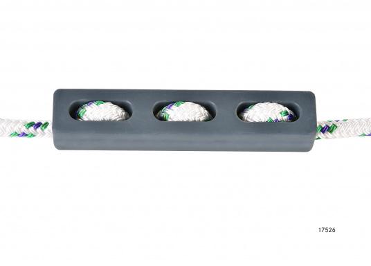 Kompakte Ruckdämpfer nicht nur für den Einsatz am Steg oder Liegeplatz. Eine speziell abgestimmte Gummimischung / Härte garantiert optimale Ruckdämpfung.  (Bild 3 von 7)