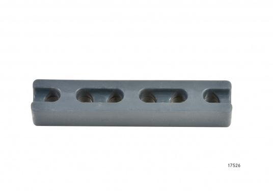 Kompakte Ruckdämpfer nicht nur für den Einsatz am Steg oder Liegeplatz. Eine speziell abgestimmte Gummimischung / Härte garantiert optimale Ruckdämpfung.  (Bild 2 von 7)