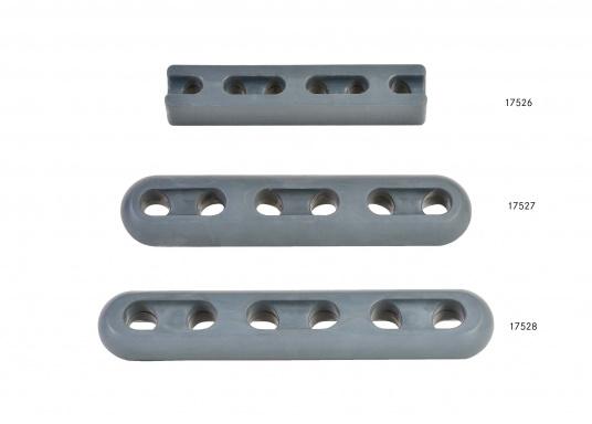 Kompakte Ruckdämpfer nicht nur für den Einsatz am Steg oder Liegeplatz. Eine speziell abgestimmte Gummimischung / Härte garantiert optimale Ruckdämpfung.