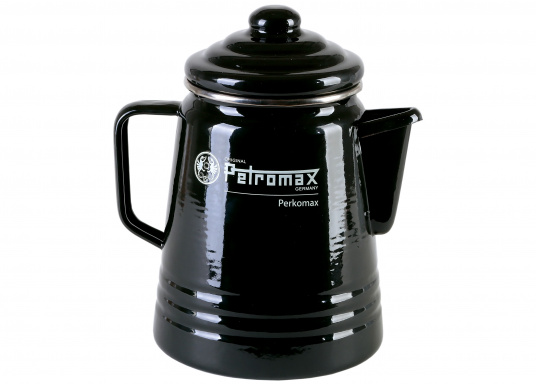 With the tea and coffee percolator (Perkomax) by Petromax, you can prepare your favorite coffee or your favorite tea mixture. The Perkomax provides up to six cups (max. Volume 1.5 l).