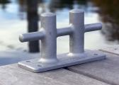 Double Cross Bollard / aluminium