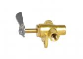 2-way valve / brass