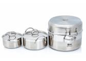 Stainless Steel Cookware Set / 7 Pieces