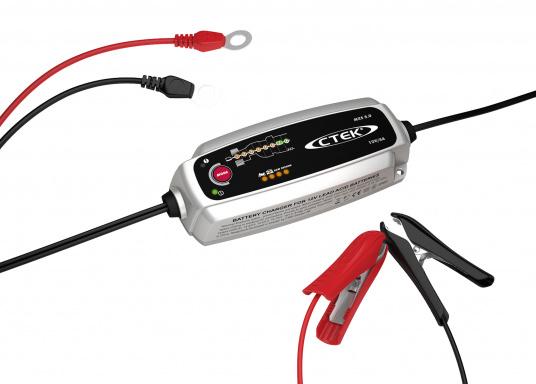 Die CTEK Ladegeräte der MXS-Klasse sind hochentwickelte, mikroprozessorgesteuerte Batterieladegeräte mit eingebauter, automatischer Temperaturkompensation. Die Ladegeräte lösen eine Reihe von Batterieproblemen und sind ideale Ladegeräte für den täglich Gebrauch.