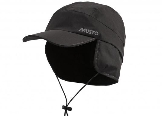 Questo cappello foderato è fatto di un materiale impermeabile e traspirante  con cuciture completamente saldate. 794ccf806d7a