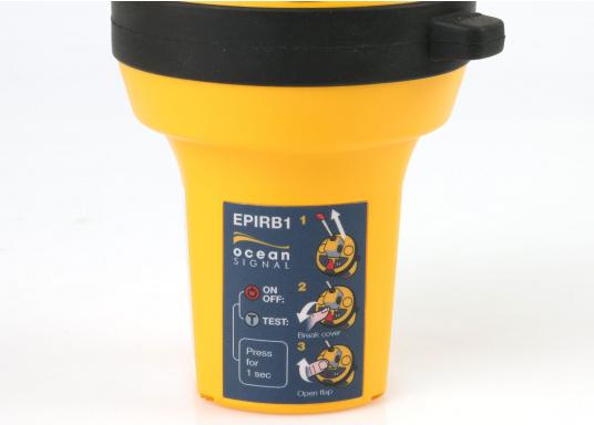 Die weltweit kompakteste EPIRB Seenotboje wird mit einer Wandhalterung für die Montage im Schiff geliefert und kann somit immer in Reichweite installiert werden. Mit integriertem 66-Kanal GPS-Empfänger.  (Bild 5 von 13)