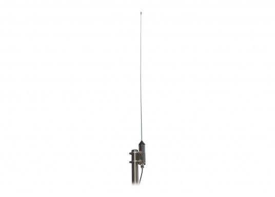 L'antenne active AA-35 a été spécialement conçue pour la gamme de fréquences de 100 kHz à 30 MHz et parfaitement adapté à la radio MRD80 ainsi que tout autre récepteur marin.