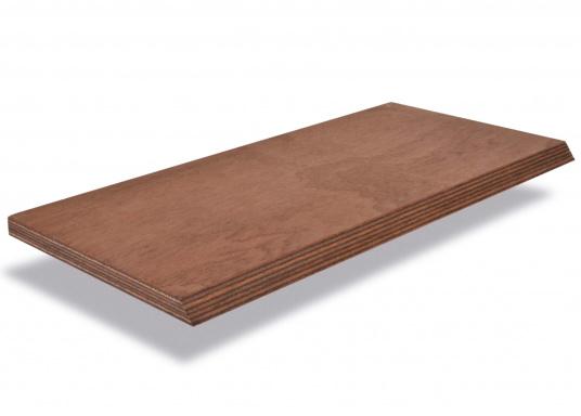 Die Marine Sapeli Sperrholzplatten sind für den Rumpfbau (Opti, Jolle, etc) geeignet. Diese Platten bestehen aus äußerst robustem Schälfurnier und haben eine RINA Zertifizierung (Germanischer Lloyd). Plattenabmessungen 310 x 160 cm.Preis pro m².