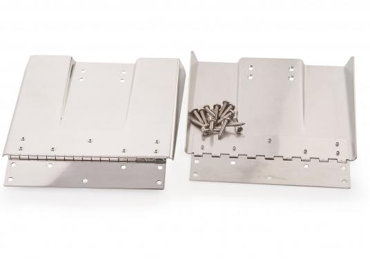 Diese High Performance Trimmklappen bestehen aus hochglanzpoliertem Edelstahl. Erhältlich in verschiedenen Größen für verschiedene Bootsgrößen. (Bild 2 von 2)