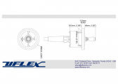 UFLEX - secondary operating panel for electronic trimmer kit