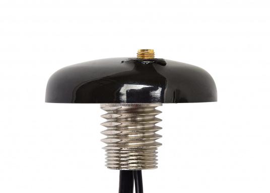 Passive AIS-GPS Kombi-Antenne für GPS-Empfang und AIS-Aussendung für den Einsatz an AIS-Transpondern. Kabellänge: 6 m, TNC-Adapter.  (Bild 3 von 5)