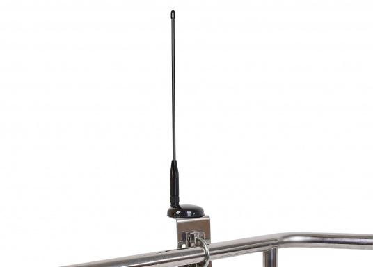Passive AIS-GPS Kombi-Antenne für GPS-Empfang und AIS-Aussendung für den Einsatz an AIS-Transpondern. Kabellänge: 6 m, TNC-Adapter.