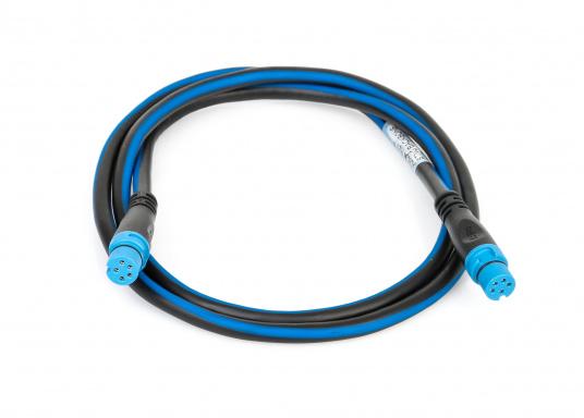 In einer SeaTalkNG Installation verläuft das Backbone-Kabel einmal durch das ganze Boot. Einzelne Geräte werden an den Backbone über ein T-Stück mit einem Spurkabel angeschlossen.  (Bild 3 von 6)