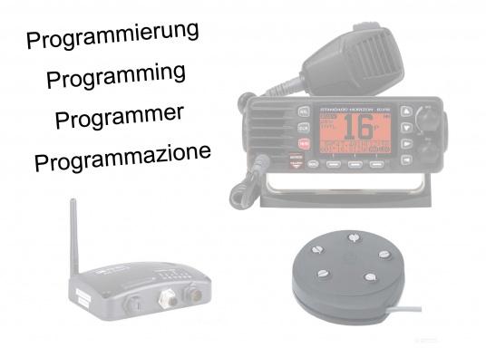 Programmierungspauschale für Funkgeräte, AIS Sender und Tankgeber.