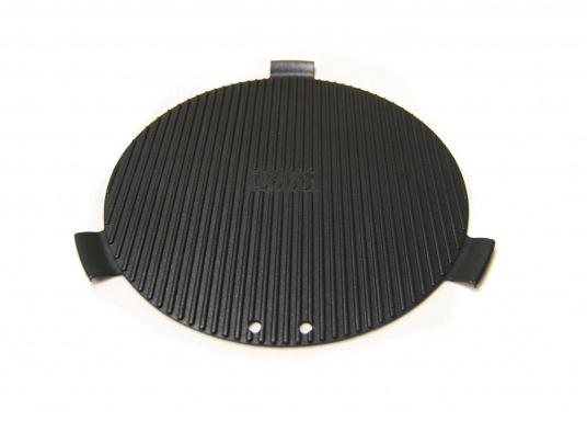 """Der COBB GRIDDLE ist aus bester Aluminium Legierung hergestellt, um die Verteilung der Hitze zu beschleunigen. Beschichtet mit einer """"non stick""""-Oberfläche. (Bild 2 von 7)"""