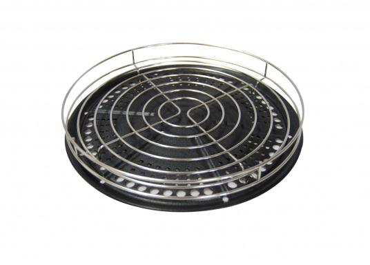 Für Grillmeister! Ein indirektes Grillen wird mit diesem Aufsatz möglich, besonders geeignet für Braten, Hähnchen und mariniertes Fleisch. (Bild 2 von 5)