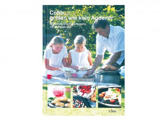 COBB - Libro di cucina &quot&#x3B;Grigliare come nessun altro&quot&#x3B;. Chef professionisti hanno sviluppato ricette interessanti soprattutto per il Cobb Grill. Disponibile solo in tedesco