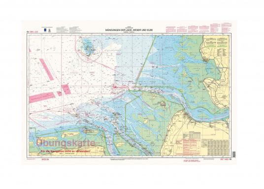 Diese Übungskarte dient nur zu Übungszwecken für den Sportbootführerschein See und Sportküstenschifferschein und ist nicht zur Navigation geeignet.