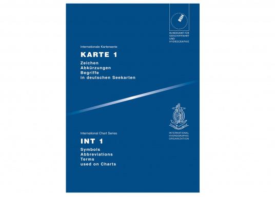 Erklärungen zu den Zeichen und Abkürzungen in den offiziellen Seekarten und den Übungskarten.