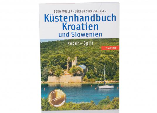 """Das """"Küstenhandbuch Kroatien 1"""" basiert auf dem Delius Klasing-Sportbootkartensatz """"Adria 1"""" und zeigt die Küste der östlichen Adria von Slowenien über Nord- und Mittel-Kroatien bis einschließlich Split."""
