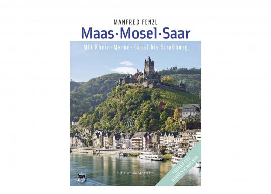 """Diese komplett überarbeitete, erweiterte und neu gestaltete Auflage des Standardwerks """"Die Mosel"""" stellt neben der Mosel auch die beliebten Kanal- und Flussreviere der Saar und der Maas vor, darüber hinaus auch noch den Rhein-Marne-Kanal."""