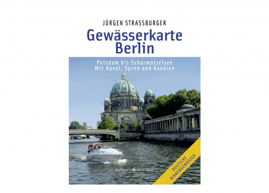 Die Gewässer in und rund um die Wassersportmetropole und Bundeshauptstadt Berlin werden auf zwei farbigen Karten mit allen wichtigen nautischen Informationen beschrieben.