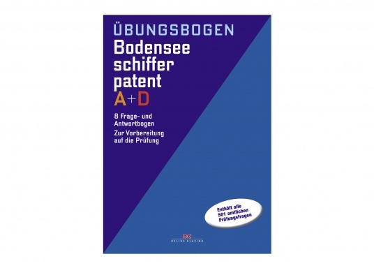 Die Übungsbogenmappen zum Bodenseeschifferpatent A + D enthält alle 501 offiziellen Prüfungfragen, die gemeinsam von den Landratsämtern Bodenseekreis, Konstanz und Lindau erstellt wurden.