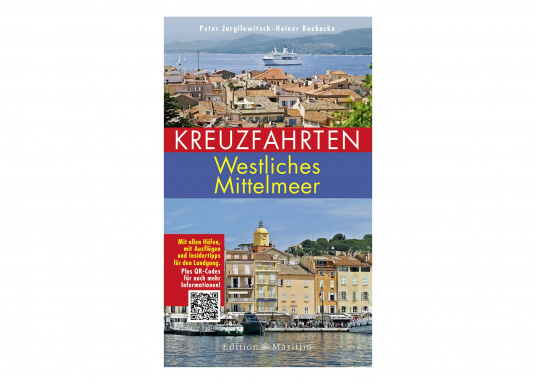 Es werden sämtliche im Rahmen einer Kreuzfahrt angelaufenen und interessanten Häfen des westlichen Mittelmeeres vorgestellt – inklusive Ausflugstipps für geführte und Individualtouren. Dazu Literaturtipps von Heiner Boehncke.