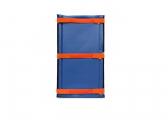 Défense pour pieu / 40 x 80 cm, bleue