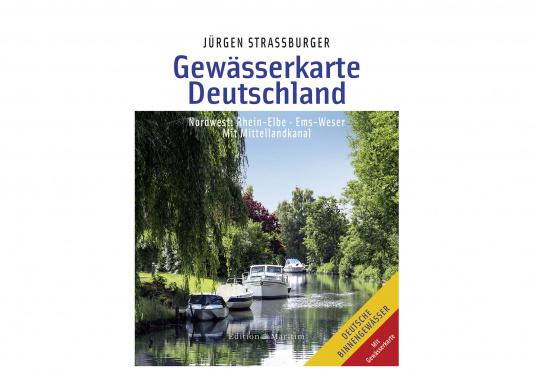 Der zuverlässige Begleiter für Binnenschiffer! Faltkarte und nautische Informationen für alle schiffbaren Flüsse und Kanäle Nordwest-Deutschlands.