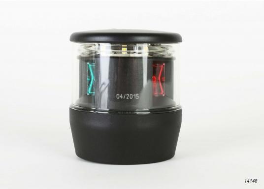 Höchste Sichtbarkeit und Sicherheit! Die NaviLED®TRIO 3-Farbenlaterne mit Ankerlicht vereinigtPräzisionsoptik und moderne Multivolt TM-Technik.  (Bild 2 von 8)