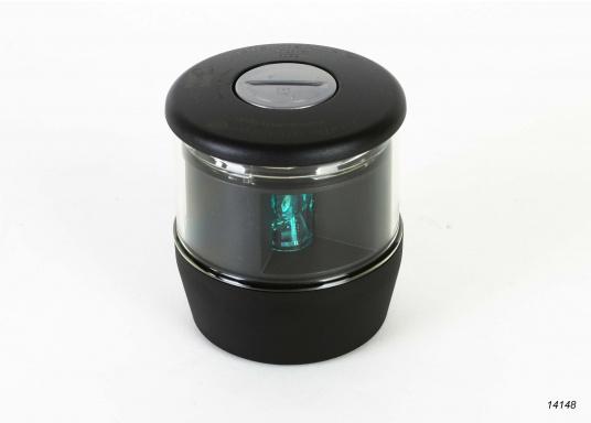 Höchste Sichtbarkeit und Sicherheit! Die NaviLED®TRIO 3-Farbenlaterne mit Ankerlicht vereinigtPräzisionsoptik und moderne Multivolt TM-Technik.  (Bild 4 von 8)