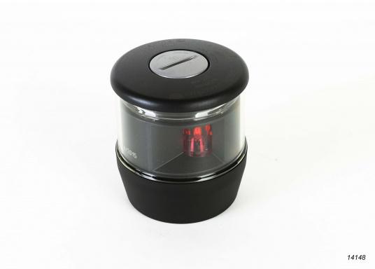 Höchste Sichtbarkeit und Sicherheit! Die NaviLED®TRIO 3-Farbenlaterne mit Ankerlicht vereinigtPräzisionsoptik und moderne Multivolt TM-Technik.  (Bild 5 von 8)