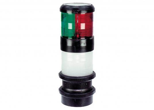 3-Farben-Laterne mit Ankerlicht der Serie 40 mit quicfits-Befestigung.