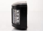 Feu bicolore LED Séries 43, boîtier noir