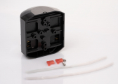 Luce a LED bicolore Serie 43, nero
