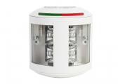 LED-Zweifarbenlaterne Serie 43, weißes Gehäuse