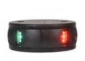 LED Zweifarbenlaterne Serie 34 / schwarzes Gehäuse